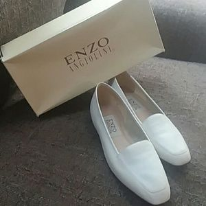 Enzo Anglolini White size 8 lofers